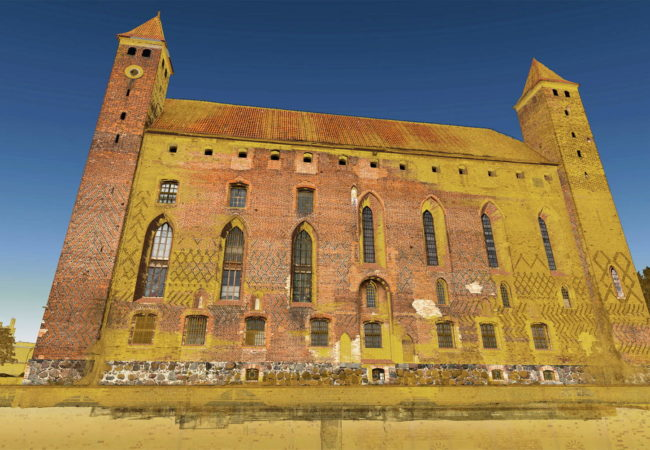 Schloss in Gniew